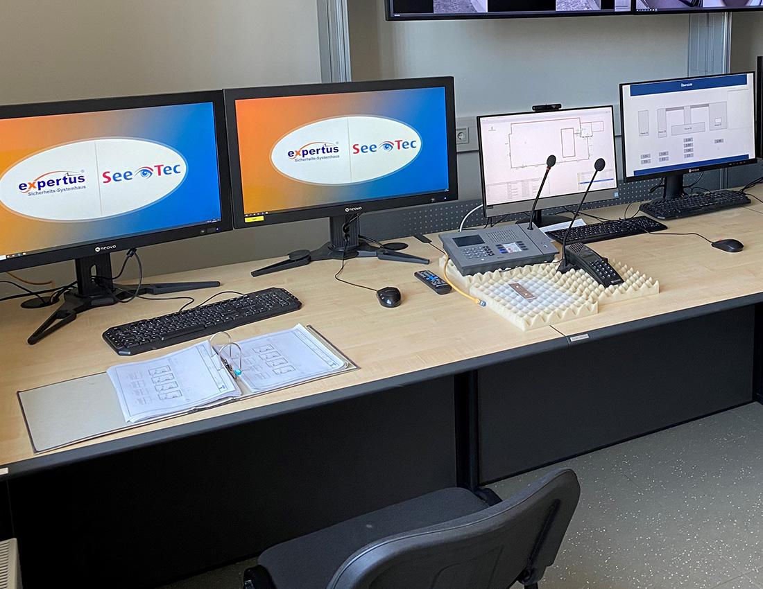 Sicherheitszentrale | expertus Sicherheits-Systemhaus